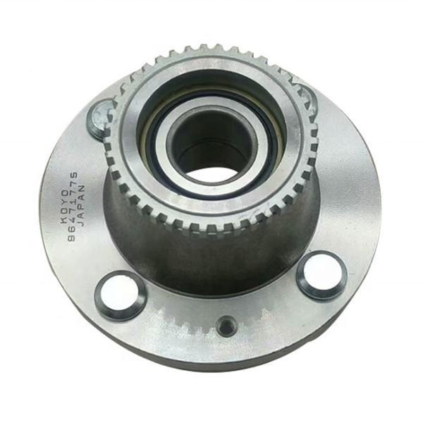 NACHI 606ZZ  Single Row Ball Bearings #1 image